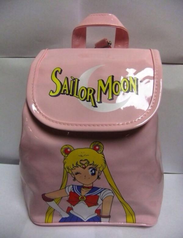 bag sailor moon sailor moon moon kawaii magical girl girly cute pink pastel lovely loli sweet soft lolita lolita kawaii bag backpack