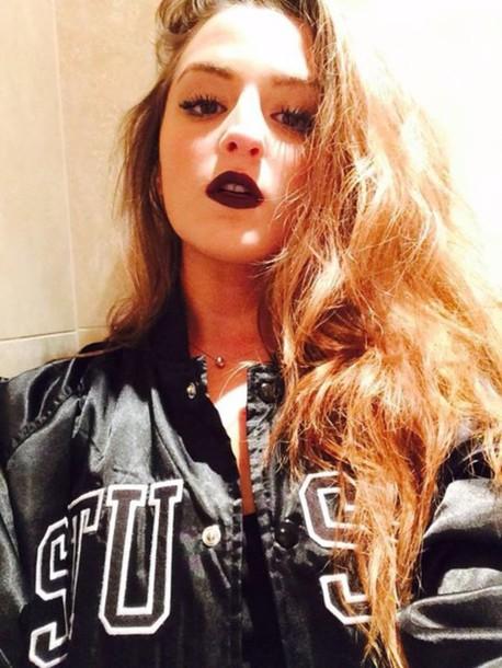 jacket stussy girl