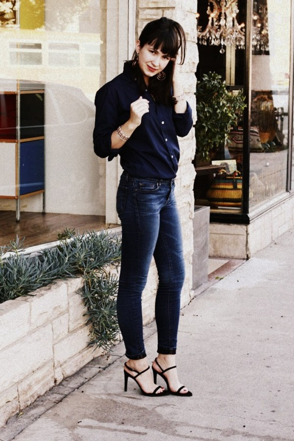 the stylish wanderer shirt jeans shoes jewels