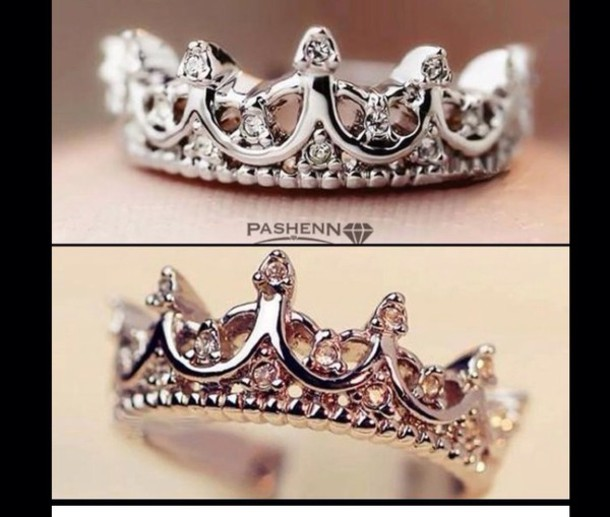 nail accessories crown ring