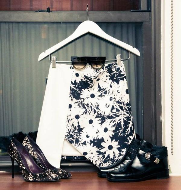 skirt daisy skirt cutout skirt hi low skirt finders keepers icifashion ici fashion