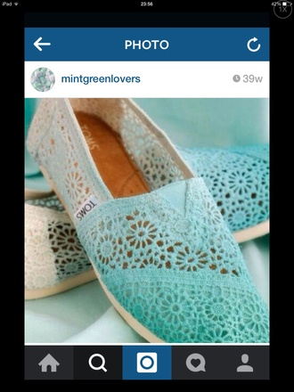 shoes white vintage ombre blue green toms toms shoes women mint green shoes mint chevron mint white lace dress