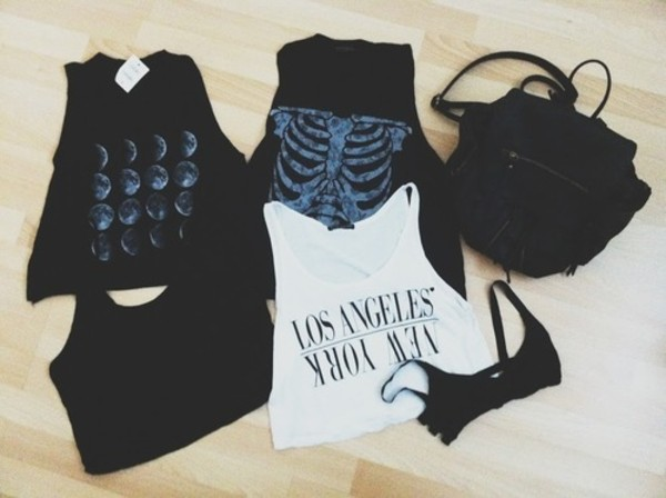 t-shirt bag top