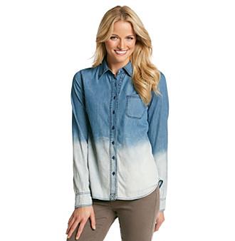 Product: Blu Pepper™ Ombre Denim Shirt