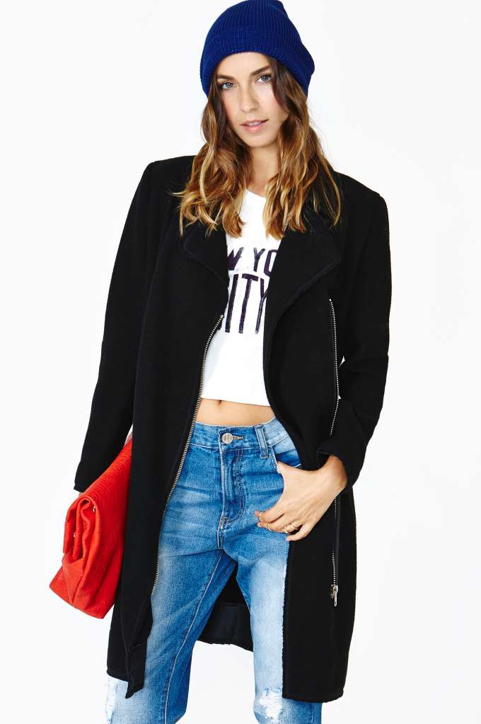 Jet Setter Jacket in  Clothes Jackets   Coats at Nasty Gal