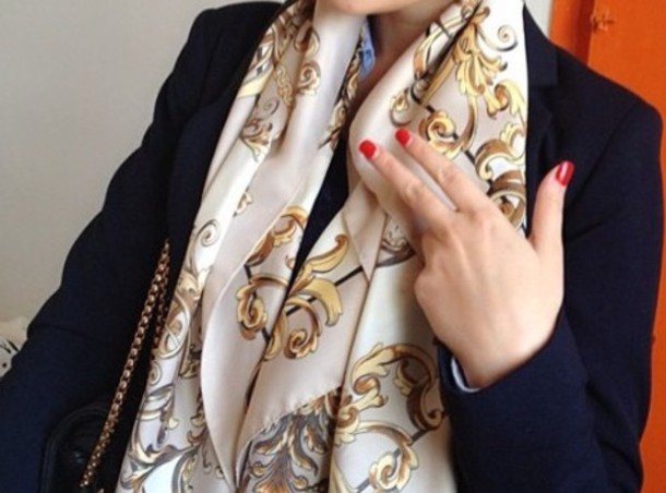 scarf accessories style fashion