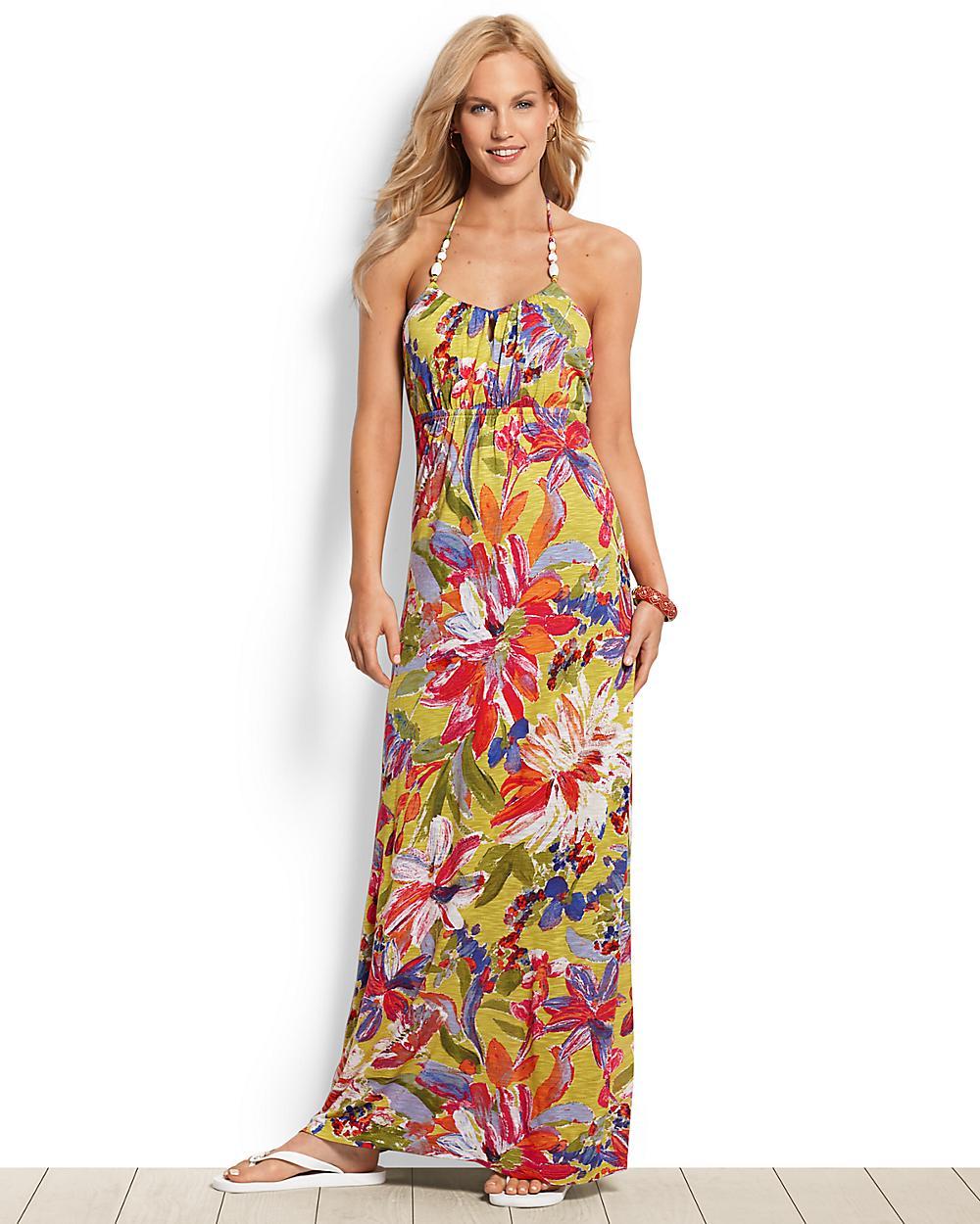 Noli Blooms Halter Dress