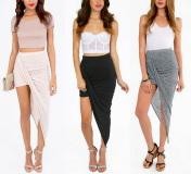 Twisted Skirt  - Juicy Wardrobe