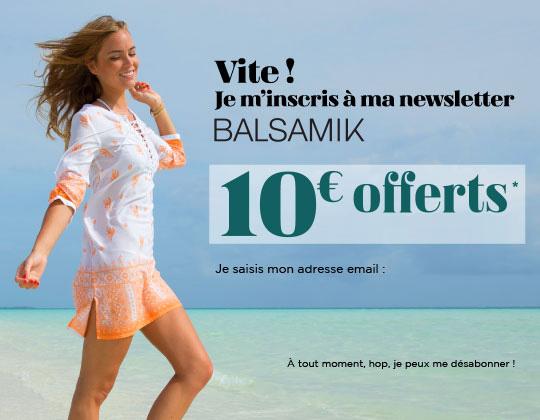 Top manches T, pur coton-Femme-BALSAMIK   balsamik.fr