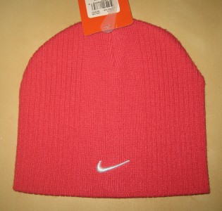 Nike Girls Winter Hat Beanie Cap Size 7 16 Berry | eBay