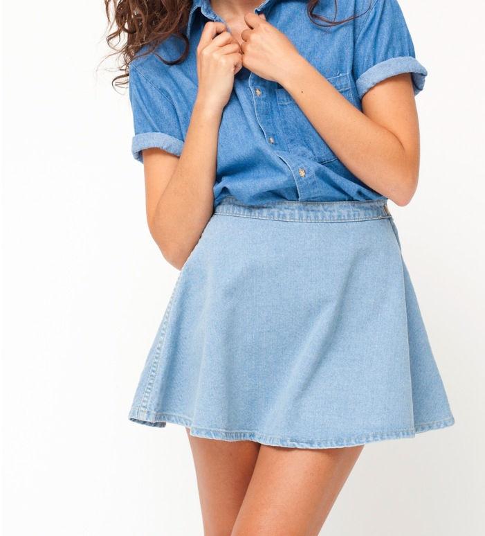 Denim Skirt   eBay