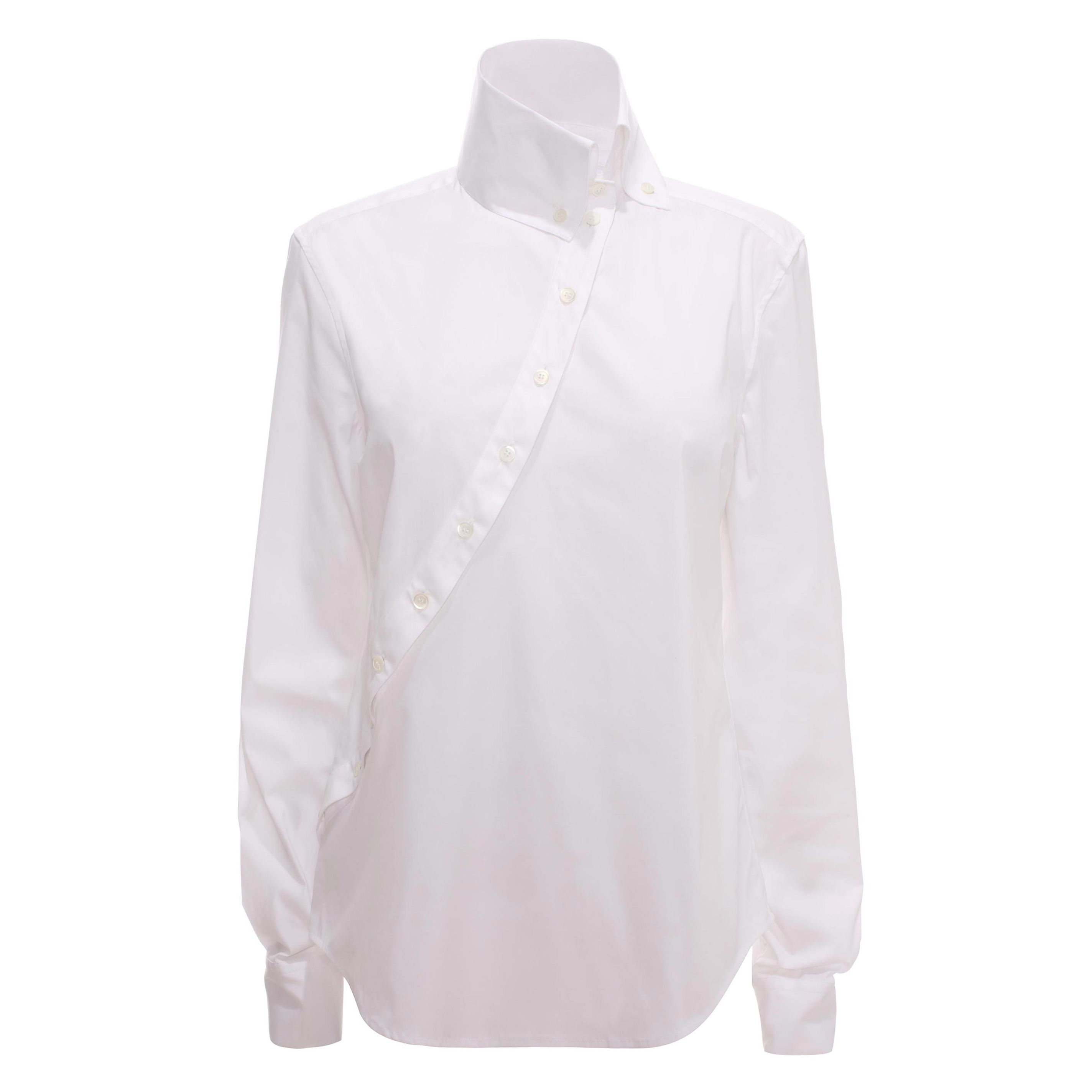 Historical Stretch Cotton Shirt McQ   Shirt   Ready To Wear