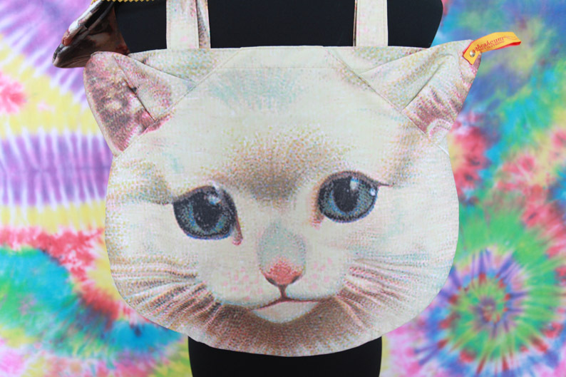 Muchacha Ahcahcum CAT Face Tote BAG Handbag Japan SET OF 2 Free Shipping-in Totes from Luggage & Bags on Aliexpress.com
