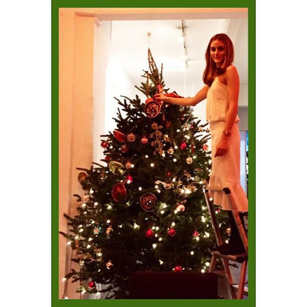 skirt holiday season new year's eve olivia palermo top
