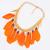 Feather Romantic Alloy Feather Necklace : KissChic.com
