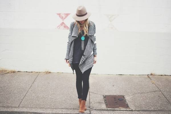 happily grey sweater t-shirt pants shoes hat bag jewels