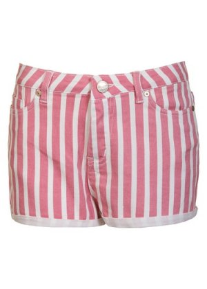 Pink striped shorts by Glamorous | Shorts | Striped Shorts