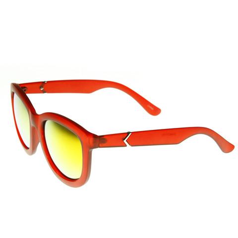 Crazy Frost Frame Mirrored Revo Lens Oversize Sunglasses 8946                           | zeroUV