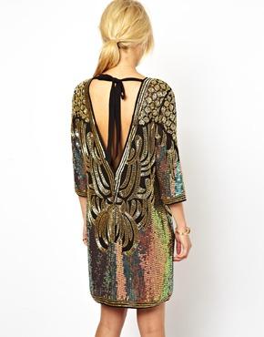 ASOS   ASOS Baroque Embellished Dress at ASOS