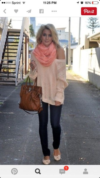 sweater purse fall outfits