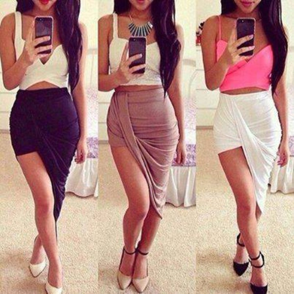 skirt long skirt beige