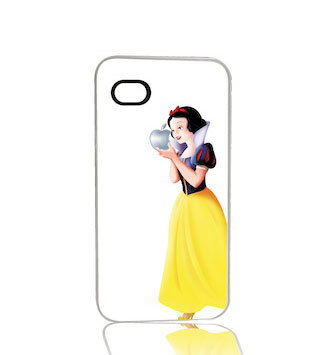 Snow White iPhone 5 5s Cell Case White by humanitysource on Etsy