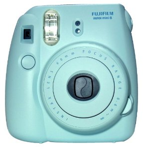 New Model Fuji Instax 8 - Blue - Fujifilm Instax Mini 8: Amazon.co.uk: Camera & Photo