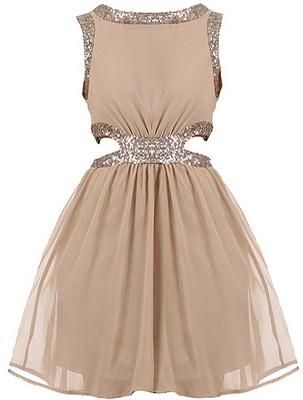 Side Sparkler Dress - Polyvore