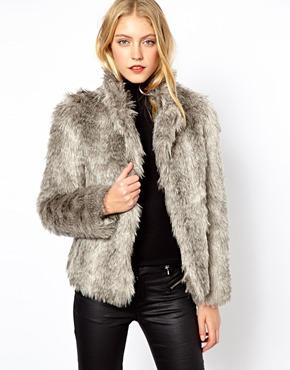 Oasis | Oasis Soft Faux Fur Coat at ASOS