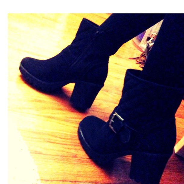 shoes heels style boots black boots high heels boots boots shoes