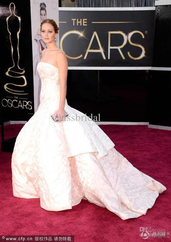 dress jennifer lawrence long dress evening dress celebrity style