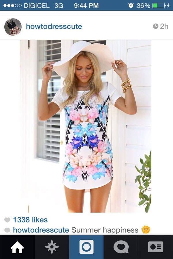 dress t-shirt dress floral summer outfits summer tshirt cover up