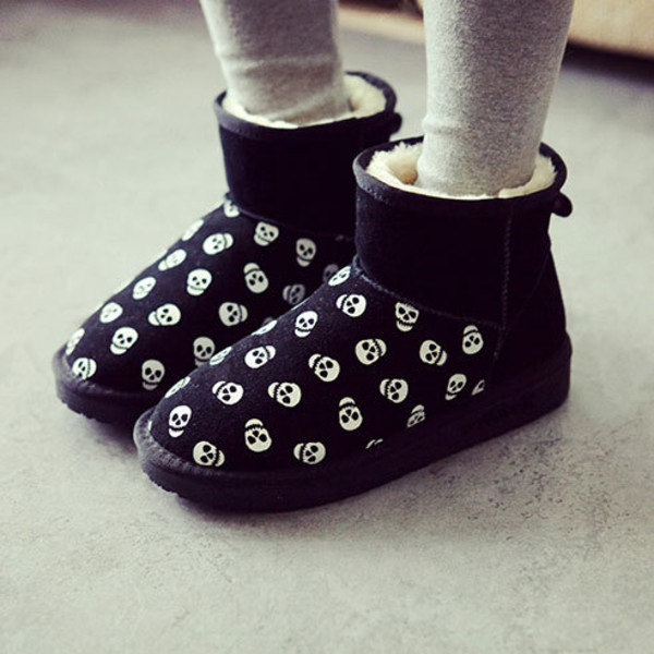 shoes boot head print cool