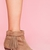 Louie Fringe Booties - Tan in  Lookbooks AUGUST LOOKBOOK: WILD CHILD at Nasty Gal