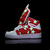 Adidas Hightops Shoes Glow In The Dark Stars Red : Adidas GID Hightops On sale