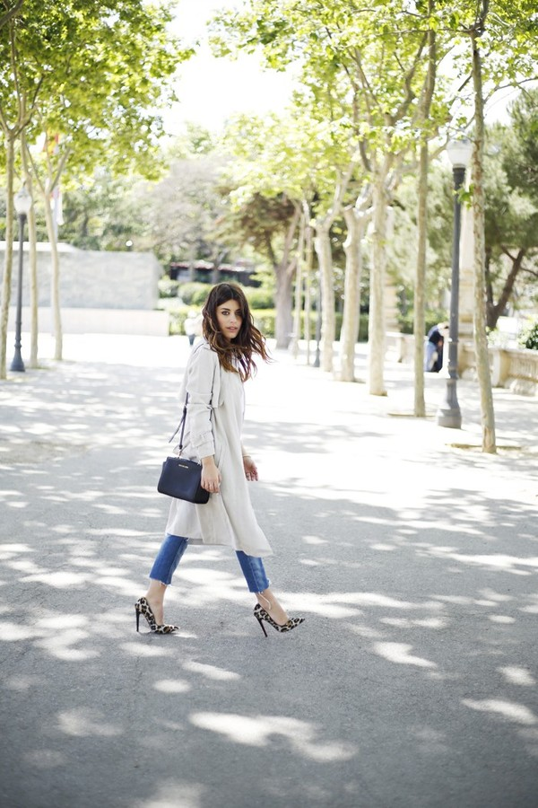 dulceida jacket blouse jeans shoes bag