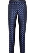 J.Crew|Collection Café silk-jacquard Capri pants|NET-A-PORTER.COM