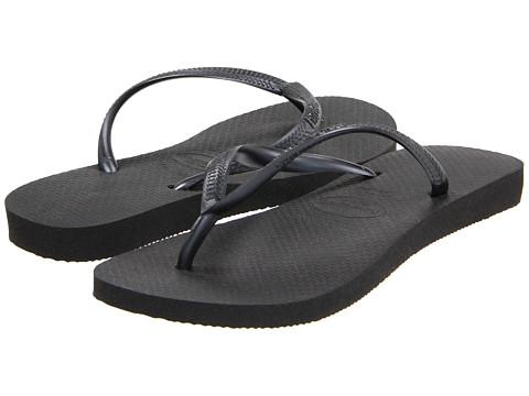 Havaianas Slim Flip Flops Black - Zappos.com Free Shipping BOTH Ways