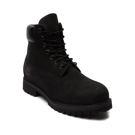 Mens Timberland 6 Classic Boot, Black, at Journeys Shoes