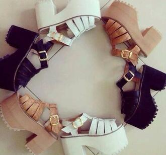 shoes summer shoes black wedges fashion hipster girly sandales plataform boots plataform shoes love shoes summer outfits