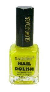 "Amazon.com: Santee Nail Polish ""GLOW IN THE DARK"" Yellow Glow 1 Bottle: Everything Else"