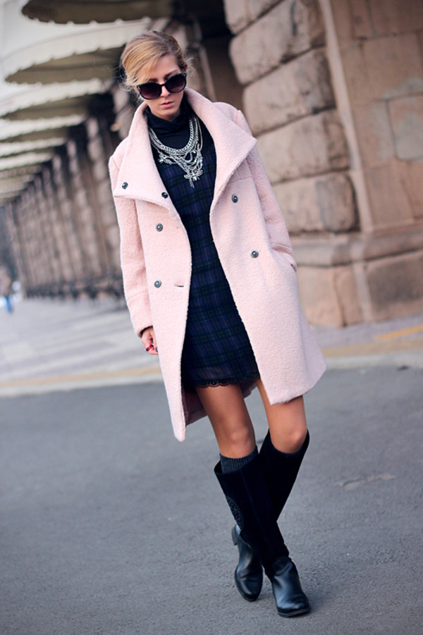 sirma markova coat dress blouse shoes jewels sunglasses