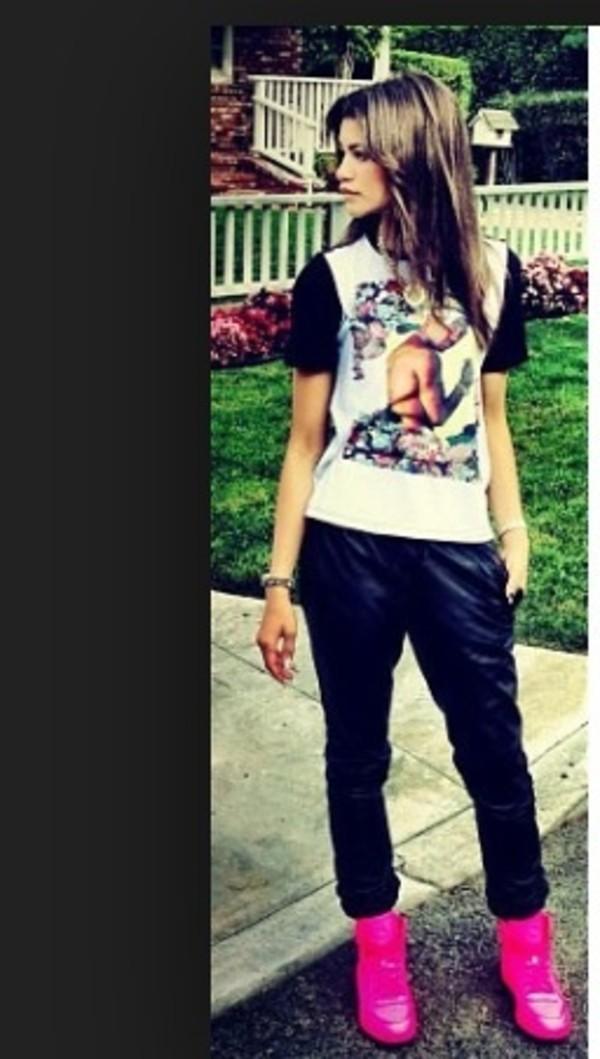 shirt zendaya tupac pants