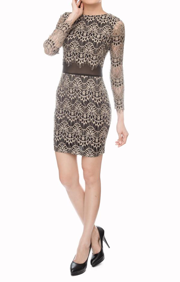 women shift dress lace dress mesh sheer feminine sweet dress