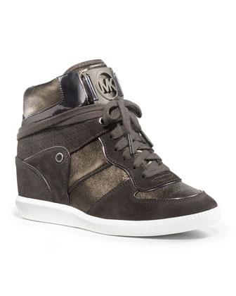 Michael Kors Nikko High-Top Sneaker - Michael Kors