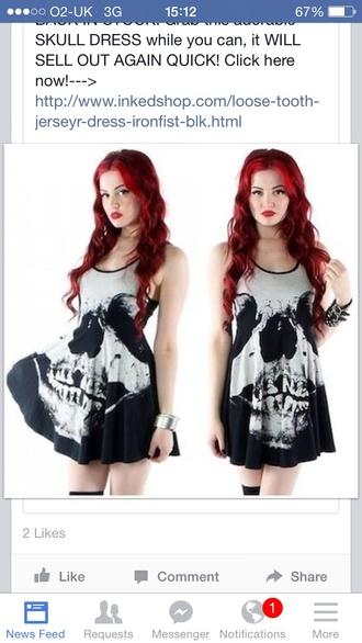 top skull top skull skull dress skull t-shirt