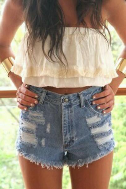 shorts high rise High waisted shorts