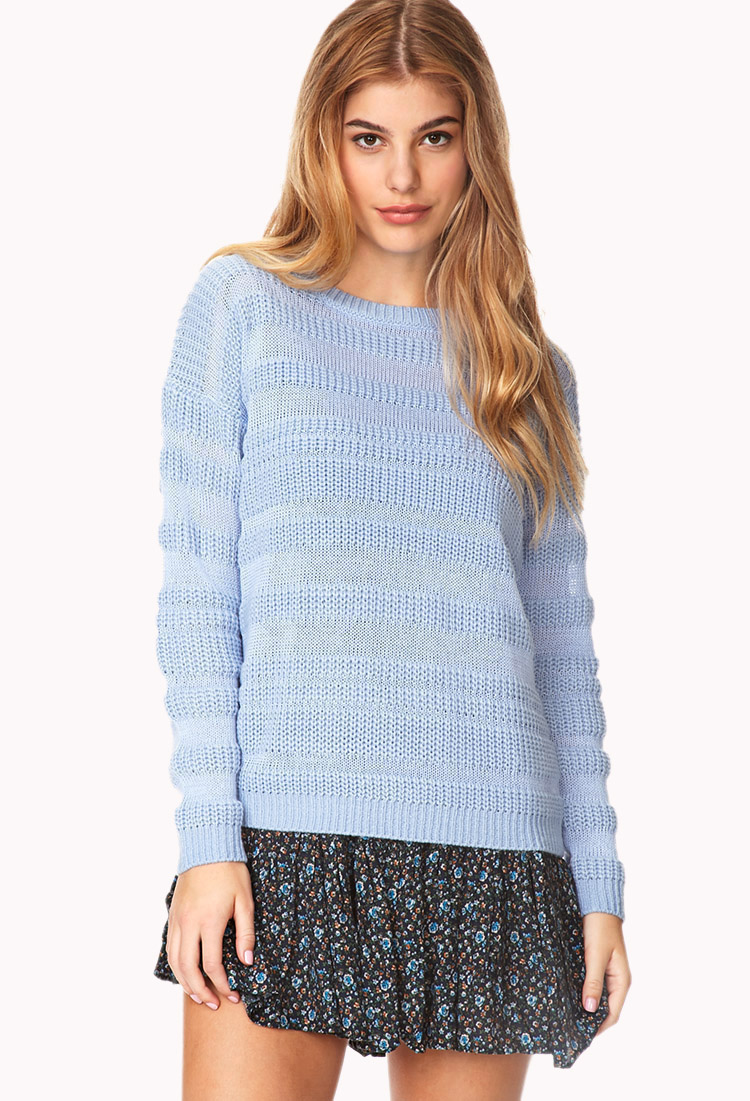 Primary Cool Striped Sweater | FOREVER21 - 2000066411