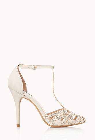 Night Moves T-Strap Heels | FOREVER21 - 2000065827