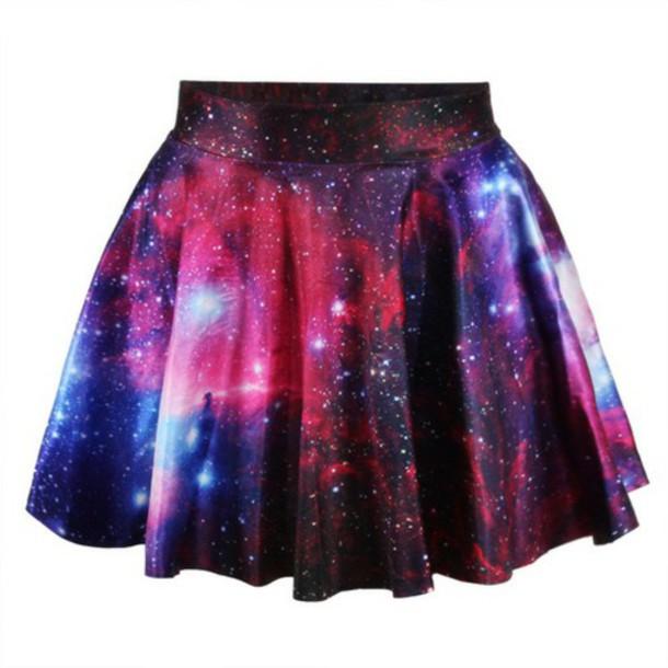 skirt galaxy skirt skater skirt galaxy print